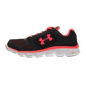 Under Armour Womens Black Running Shoes Sneakers